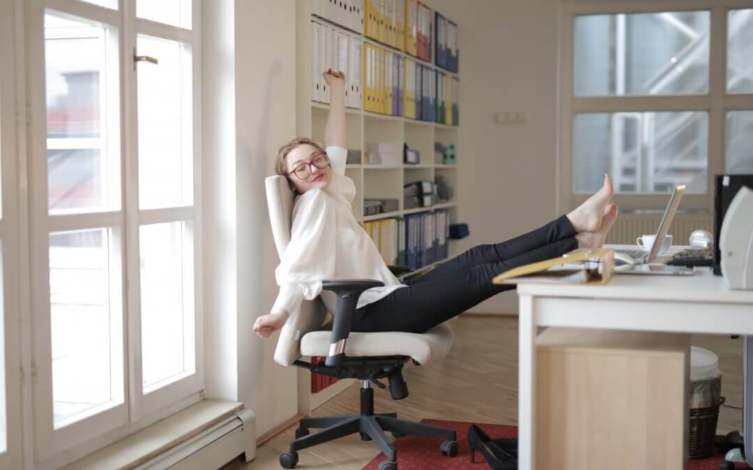 Working-from-home Upper Body Stretches