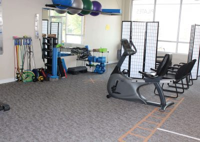 Physiotherapy Area at LiveWell Waterloo