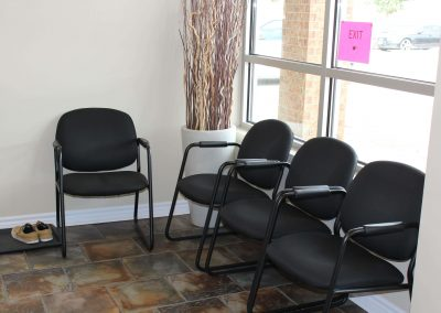 Waiting Area at LiveWell Waterloo