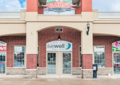Exterior Front of LiveWell Baden
