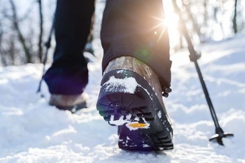 Physiotherapy and Walking Outside in the Winter